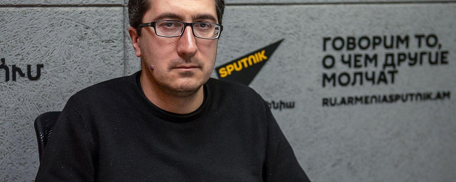 Давид Арутюнов - Sputnik Արմենիա, 1920, 12.08.2021