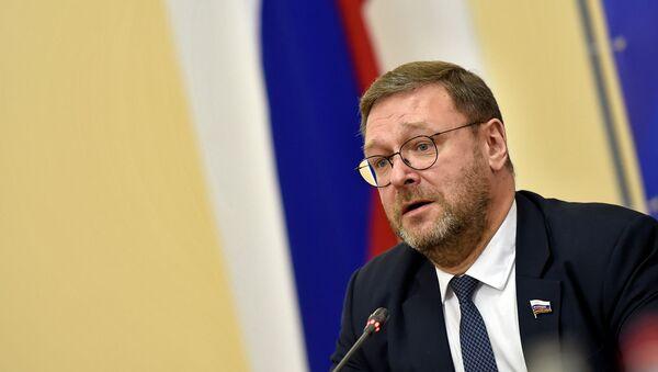 Председатель Комитета Совета Федерации по международным делам Константин Косачев (18 декабря 2019). Еревaн - Sputnik Армения