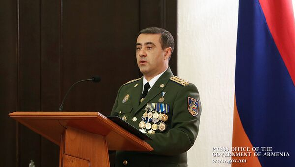 Премьер-министр Никол Пашинян принял участие на праздничном заседании по поводу для сотрудника нацбезопасности (19 декабря 2019). Еревaн - Sputnik Армения