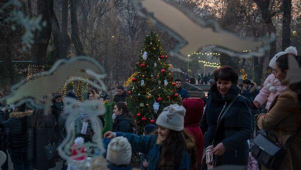 Рождественская елка Ереванского зоопарка - Sputnik Армения