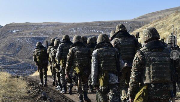 Армянские военнослужащие - Sputnik Արմենիա