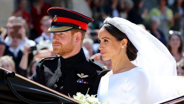 Свадьба британского принца Гарри и Меган Маркл (19 мая 2018). Виндзор - Sputnik Արմենիա