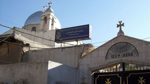 Церковь Святого Саркиса в Дамаске - Sputnik Արմենիա