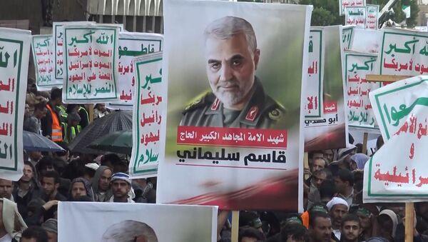 В Тегеране простились с генералом Сулеймани: народ требует мести - Sputnik Армения