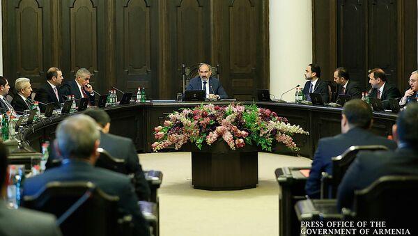 Первое заседание правительства Армении 2020 года (9 января 2020). Еревaн - Sputnik Արմենիա