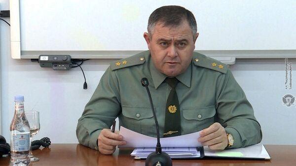 Начальник Генштаба ВС Армении, генерал-лейтенант Артак Давтян (9 января 2020). - Sputnik Армения