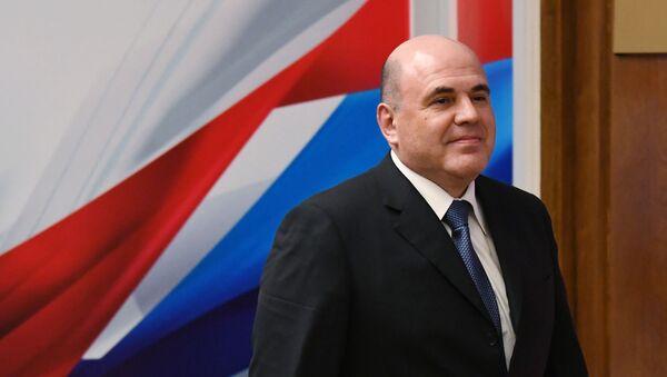 Кандидат на пост премьер-министра РФ Михаил Мишустин - Sputnik Армения