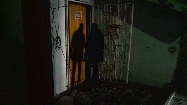 Последствия пожара в Доме Печати (18 января 2020). Еревaн - Sputnik Армения