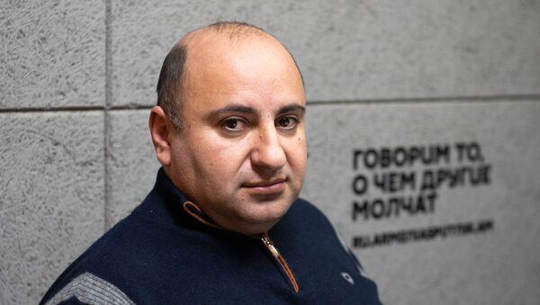 Заведующий кафедрой конституционного права юридического факультета Ереванского государственного университета Вардан Айвазян - Sputnik Արմենիա