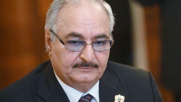 Командующий Ливийской национальной армией Халифа Хафтар - Sputnik Армения