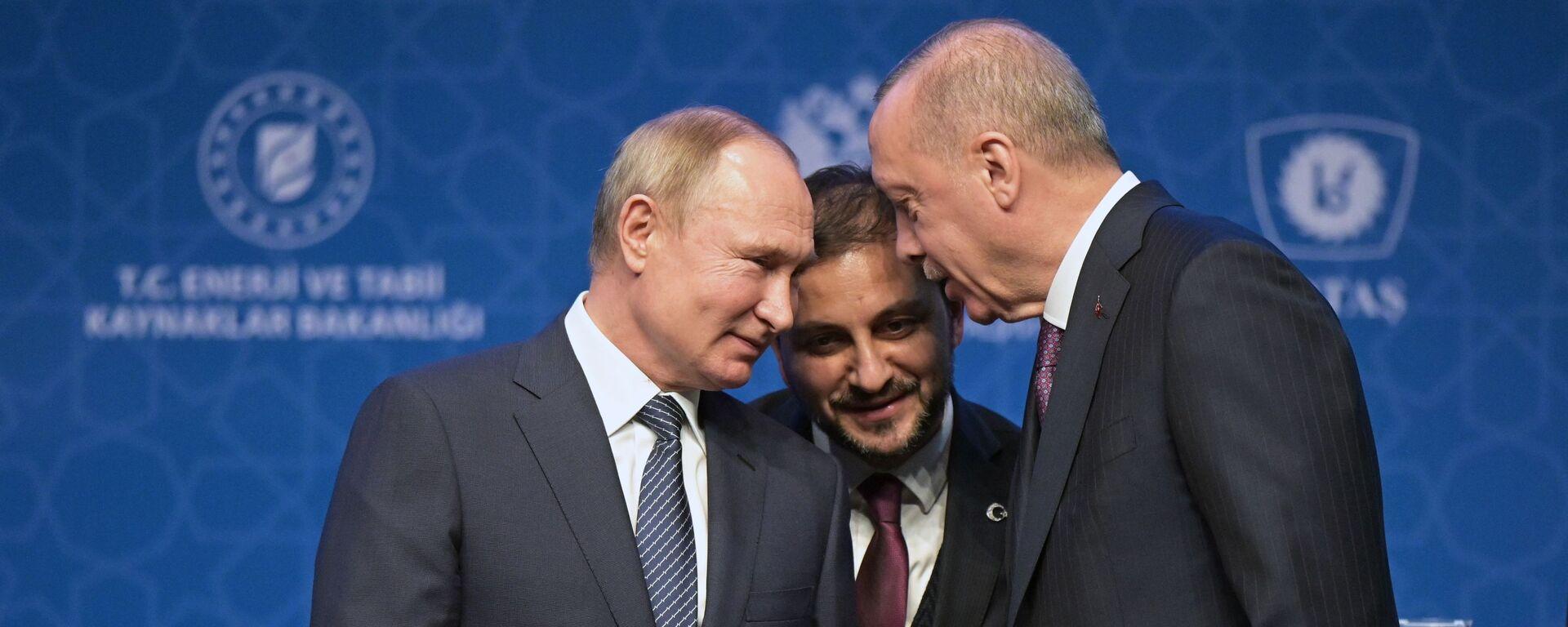 Рабочий визит президента РФ В. Путина в Турецкую Республику - Sputnik Армения, 1920, 26.09.2021