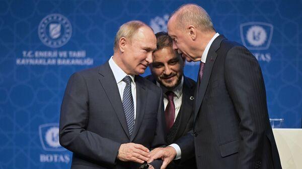 Рабочий визит президента РФ В. Путина в Турецкую Республику - Sputnik Армения