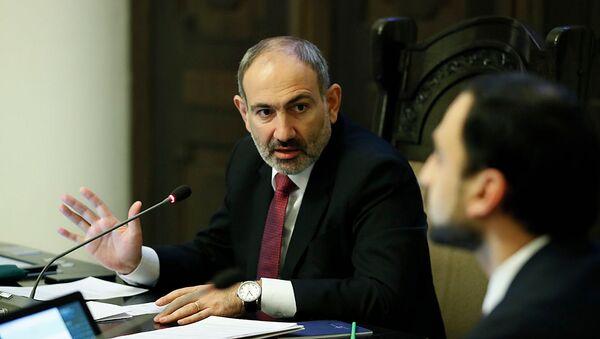 Премьер-министр РА Никол Пашинян на заседании правительства (23 января 2020). Еревaн - Sputnik Армения