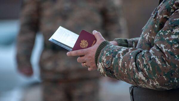 Военные билеты демобилизованных солдат - Sputnik Արմենիա