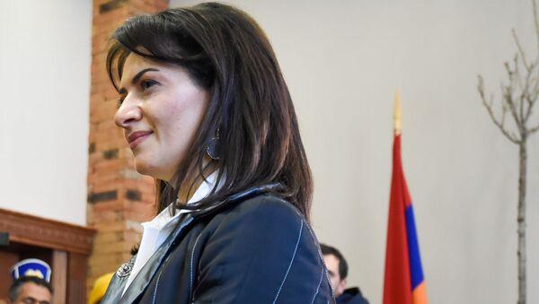 Анна Акобян посетила реабилитационный центр защитника Отечества (28 января 2020). Еревaн - Sputnik Արմենիա