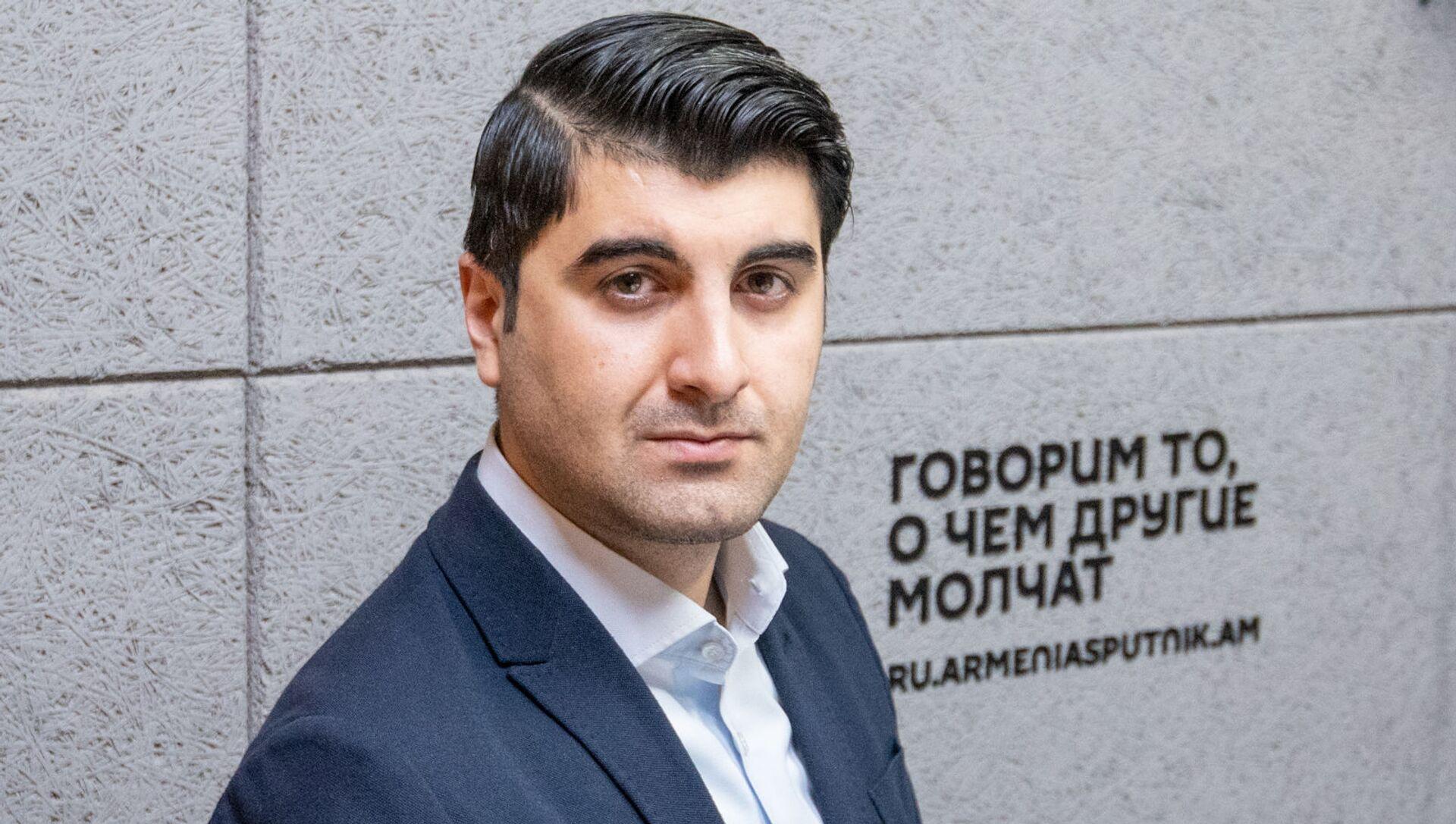Нарек Минасян - Sputnik Արմենիա, 1920, 09.04.2021