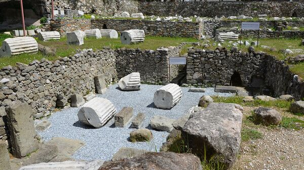 Галикарнасский мавзолей, одно из Семи чудес древнего мира - Sputnik Армения