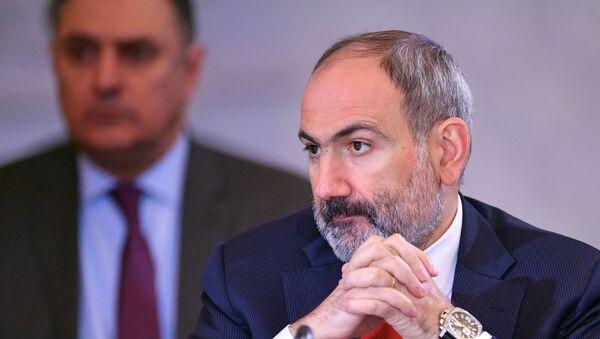 Рабочий визит премьер-министра Армении Никола Пашиняна в Казахстан - Sputnik Армения