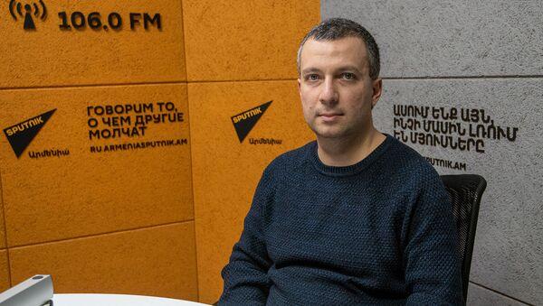 Исполнительный директор Ассоциации политической науки Армении Бениамин Погосян - Sputnik Արմենիա