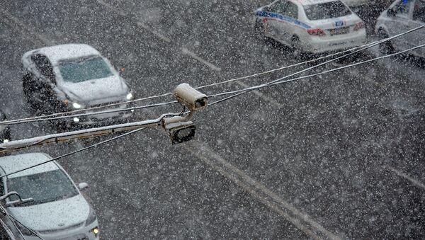Снег в Ереване - Sputnik Արմենիա
