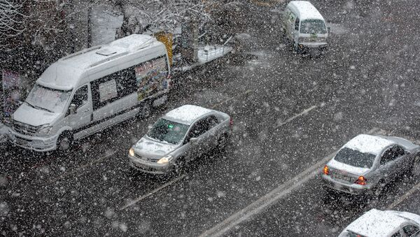 Снег в Ереване - Sputnik Армения