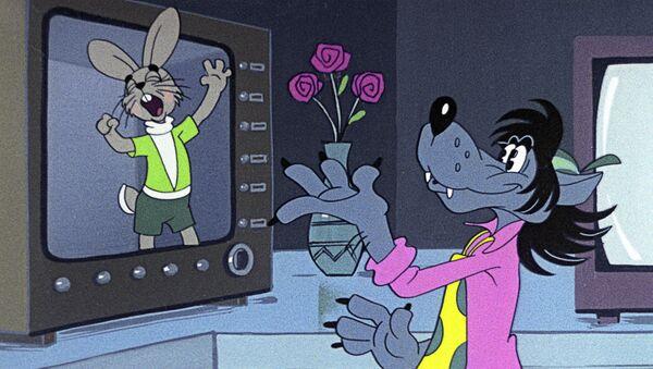 Кадр из мультипликационного фильма Ну, погоди! - Sputnik Արմենիա