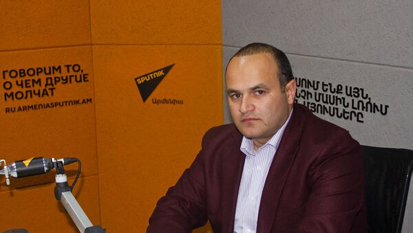 Депутат парламента Армении Нарек Мкртчян - Sputnik Армения