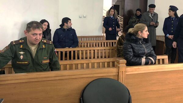 Судебное заседание по делу смерти Джулиетты Гукасян (4 февраля 2020). Гюмри - Sputnik Արմենիա