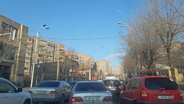 Улица Андраника в Юго-Западном Массиве  - Sputnik Армения