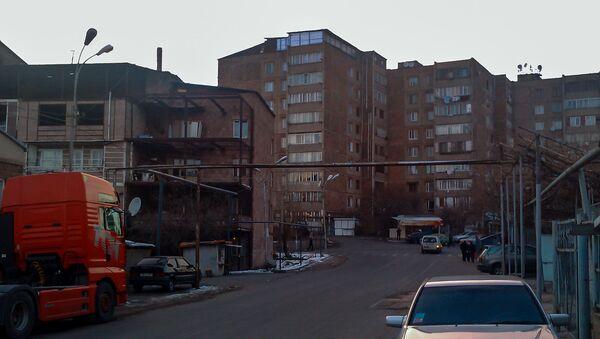 Жилые здания в административном районе Канакер-Зейтун - Sputnik Արմենիա