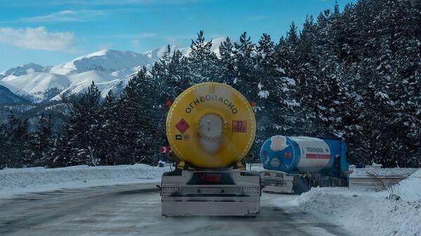 Транспортировка сжиженного газа - Sputnik Արմենիա