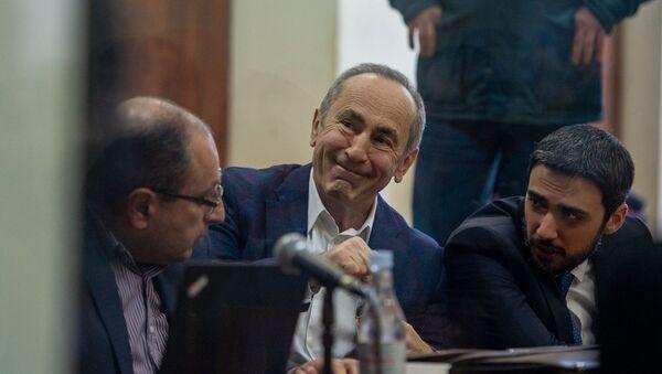 Роберт Кочарян на судебном заседании по делу 1-го марта (11 февраля 2020). Еревaн - Sputnik Արմենիա