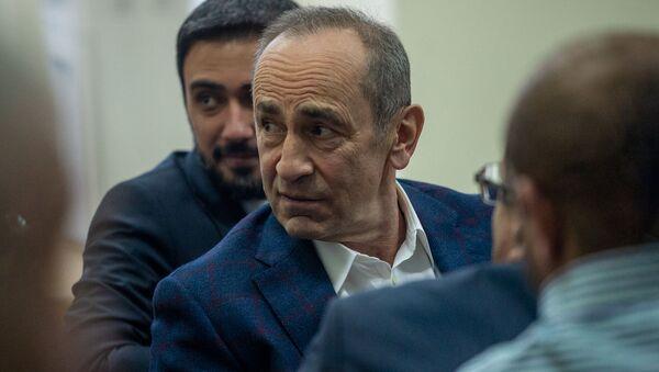 Роберт Кочарян на судебном заседании по делу 1-го марта (11 февраля 2020). Еревaн - Sputnik Армения