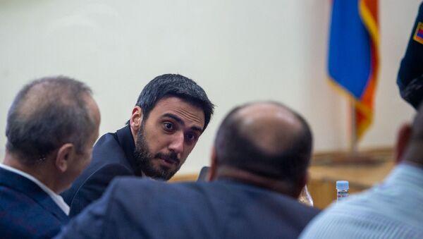 Адвокат Арам Вардеванян на судебном заседании по делу 1-го марта (11 февраля 2020). Еревaн - Sputnik Армения