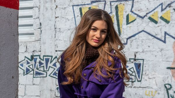 Участница проекта К Евровидению, певица Атена Манукян - Sputnik Արմենիա