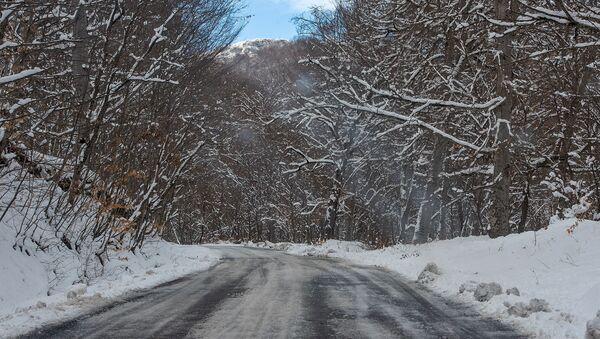 Дорога в монастырский комплекс Агарцин - Sputnik Արմենիա