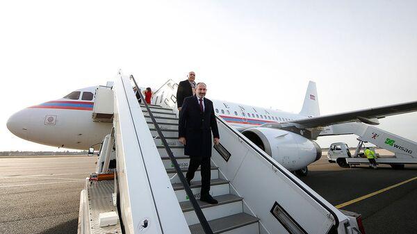 Премьер-министр Армении Никол Пашинян прибыл с официальным визитом в Германию (13 февраля 2020). Берлин - Sputnik Արմենիա