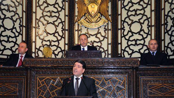 Заседание Парламента Сирии (8 июня 2015). Дамаск - Sputnik Армения