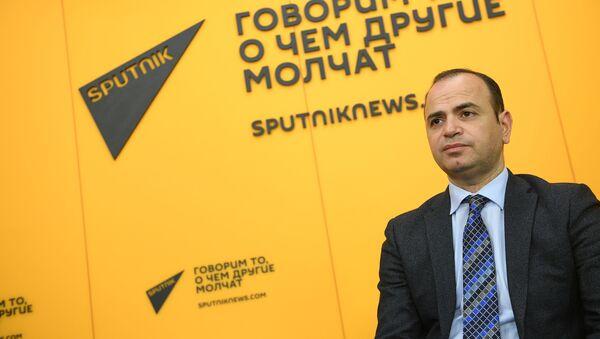 Заре Синанян, главный комиссар аппарата премьер-министра Армении по делам диаспоры - Sputnik Արմենիա