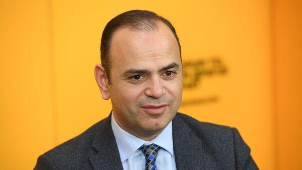 Заре Синанян, главный комиссар аппарата премьер-министра Армении по делам диаспоры - Sputnik Армения
