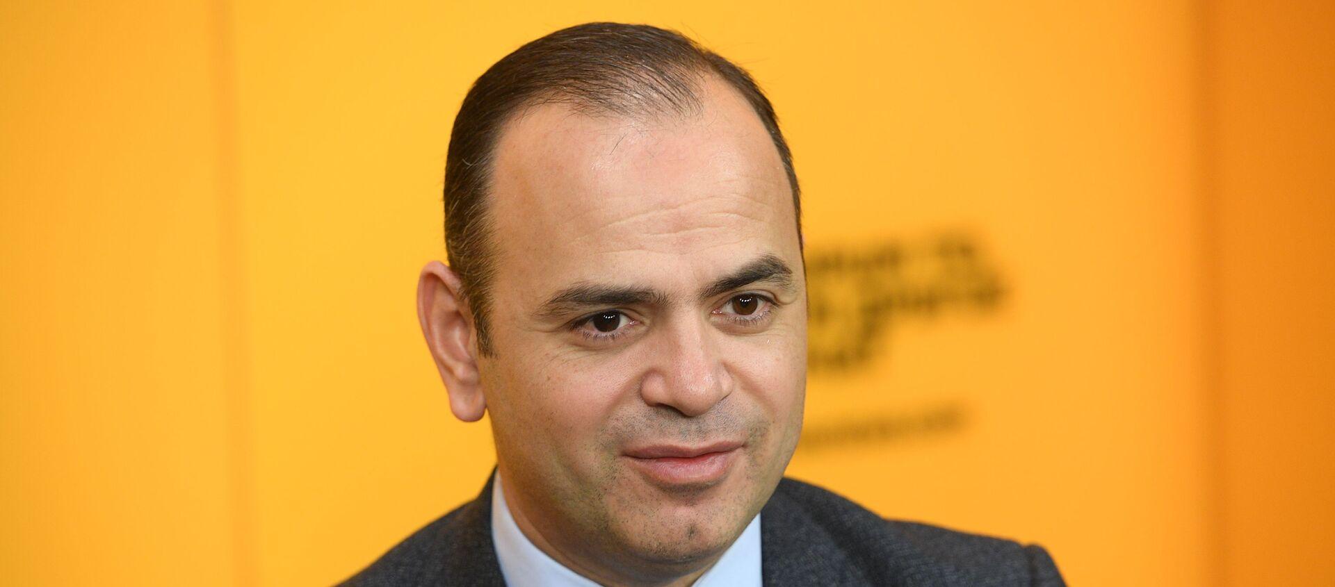 Заре Синанян, главный комиссар аппарата премьер-министра Армении по делам диаспоры - Sputnik Армения, 1920, 04.02.2021