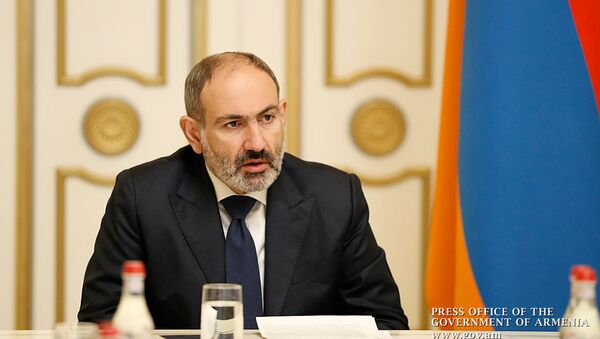Премьер-министр Никол Пашинян провел совещание в связи  с гибелью военнослужащих (17 февраля 2020). Еревaн - Sputnik Արմենիա