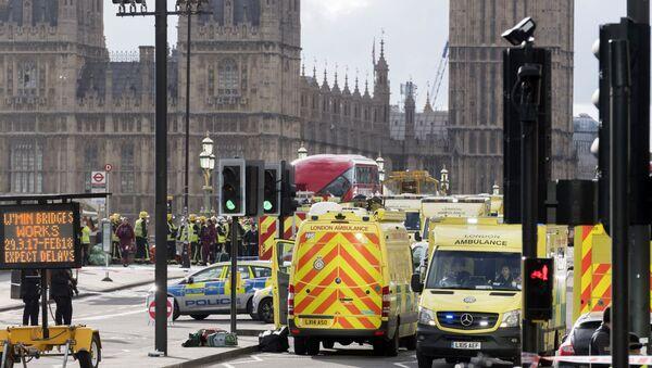 Ситуация на месте теракта у британского парламента - Sputnik Армения