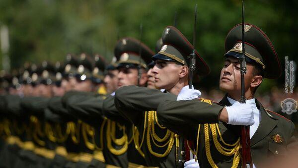 Почетный караул ВС Армении - Sputnik Армения