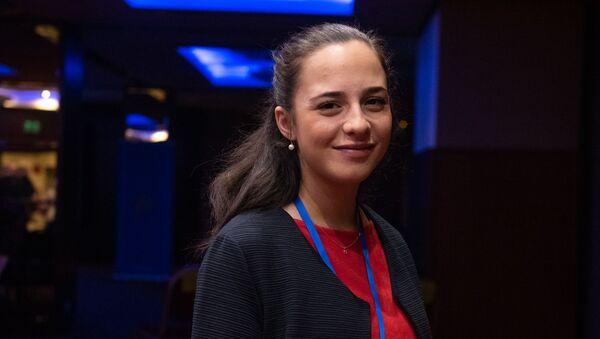 Глава Комитета гражданской авиации Татевик Ревазян - Sputnik Армения