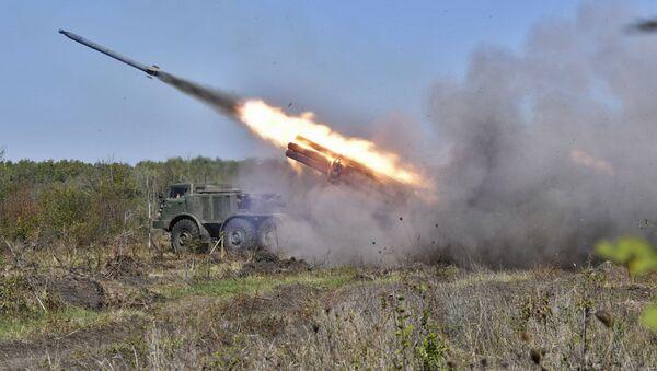Тактические артиллерийские учения в Краснодарском крае - Sputnik Արմենիա