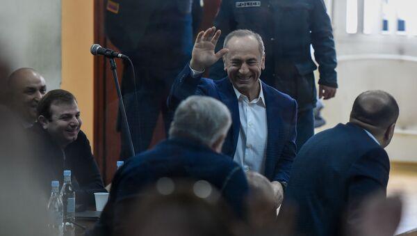 Роберт Кочарян на судебном заседании по делу 1 марта (25 февраля 2020). Еревaн - Sputnik Արմենիա