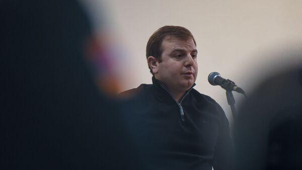 Адвокат Эрик Алексанян на судебном заседании по делу 1 марта (25 февраля 2020). Еревaн - Sputnik Արմենիա