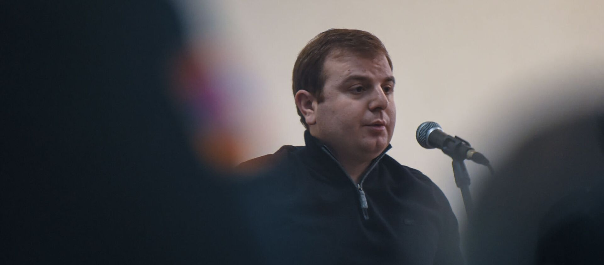 Адвокат Эрик Алексанян на судебном заседании по делу 1 марта (25 февраля 2020). Еревaн - Sputnik Արմենիա, 1920, 24.06.2021