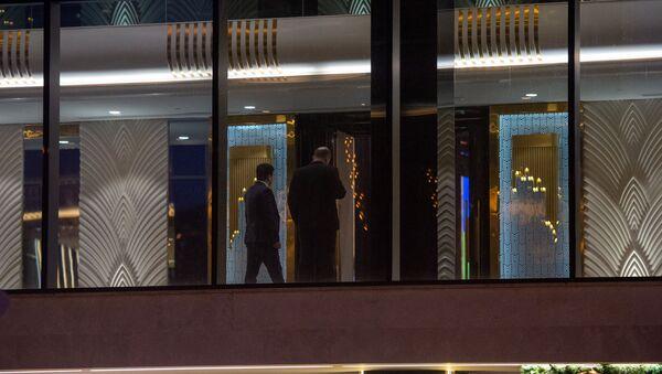 Вечер по сбору средств партии Гражданский договор, проходящий в гостинице Двин (25 февраля 2020). Еревaн - Sputnik Արմենիա